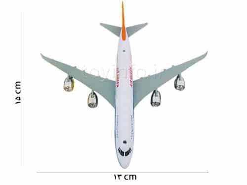 اسباب بازی , اندازه هواپیما