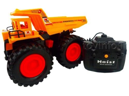 اسباب بازی پسرانه کامیون معدن کنترلی