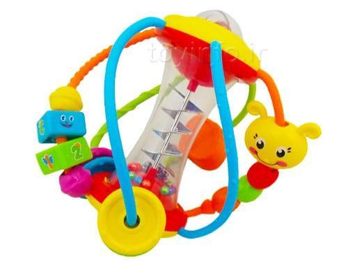 اسباب بازی خردسال جغجغه توپی