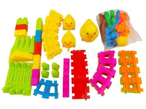 قطعات اسباب بازی و لگو ایستگاه قطار اردکی