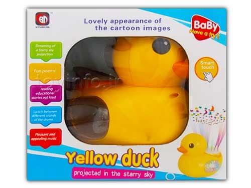 بسته بندی اردک موزیکال اسباب بازی برای کودک خردسال