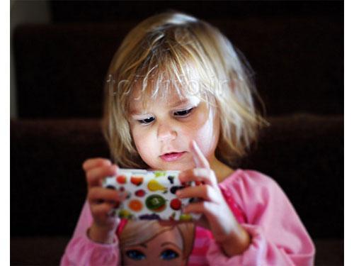 کودک و اسباب بازی تبلت