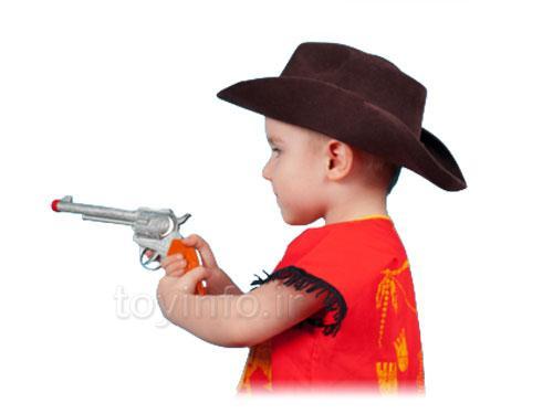 تاثیر اسلحه اسباب بازی بر رفتار کودک