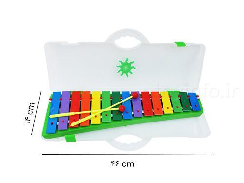 بلز بزرگ با کیف قابل حمل , اسباب بازی و موسیقی برای کودک