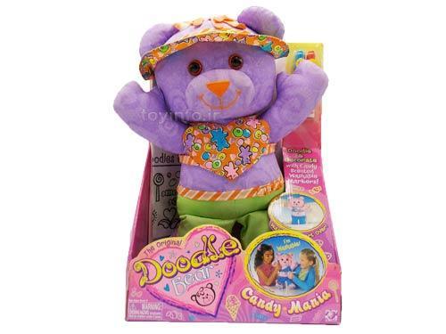 اسباب بازی عروسک خرس نقاشی مناسب برای دختران