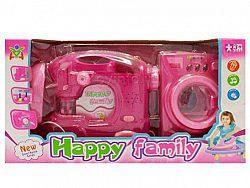 لوازم خانگی دو تکه ماشین لباسشویی و چرخ خیاطی اسباب بازی