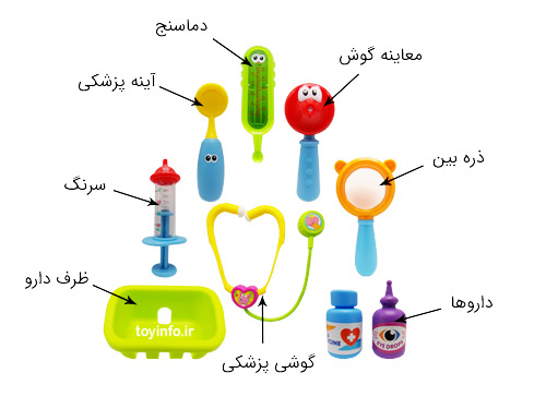 جزییات وسایل پزشکی