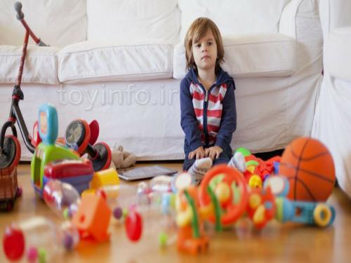 تعداد اسباب بازی مناسب برای کودک