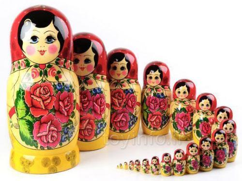 عروسک های روسی ,اسباب بازی روسیه