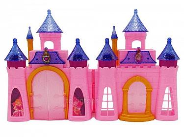 قلعه پرنسس وشاهزاده موزیکال,اسباب بازی قلعه دخترانه صورتی رنگ,قلعه شگفت انگیز و پرهیجان,مناسب برای دختران ایده آل گرا