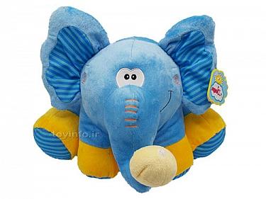 عروسک پولیش جالب و دوست داشتنی فیل کوچولوی آبی
