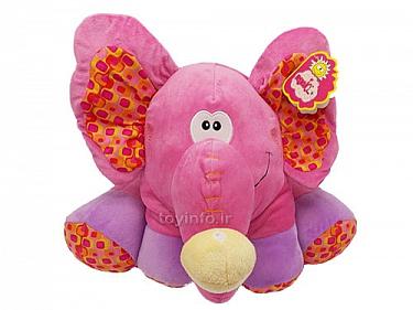 اسباب بازی فیل کوچولوی صورتی,اسباب بازی عروسکی , پولیشی