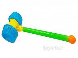 تصویر پتک بزرگ - چکش بزرگ اسباب بازی برای کودکان