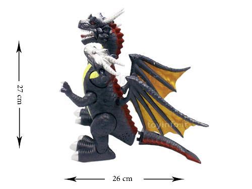 ابعاد و اندازه اسباب بازی دایناسور