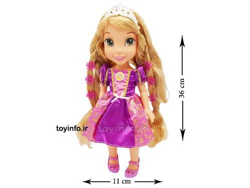 ابعاد عروسک گیسو کمند