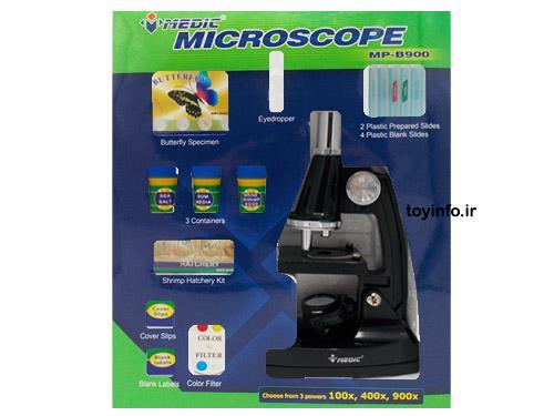 میکروسکوپ 900 در بسته بندی
