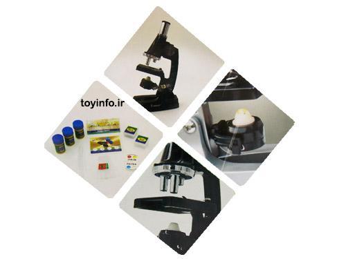قسمتهای مختلف میکروسکوپ 900 برابر آموزشی