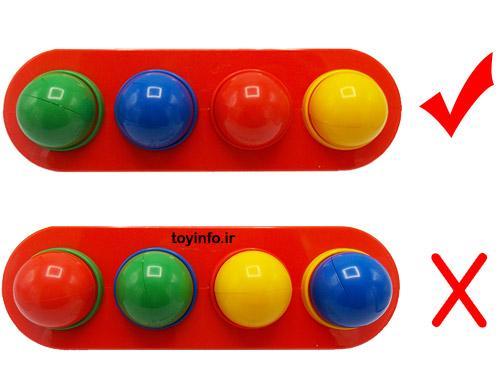 نحوه صحیح استفاده از رنگ های دالی توپه