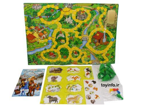 راز جنگل ,بازی فکری ، اسباب بازی آموزشی