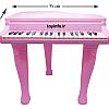 اسباب بازی پیانو پایه دار صورتی دخترانه