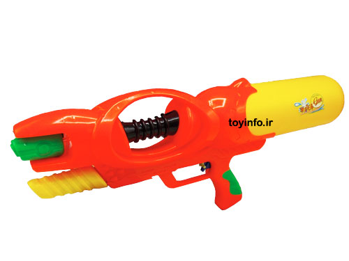 تفنگ آب پاش اورانوس از زاویه جانبی