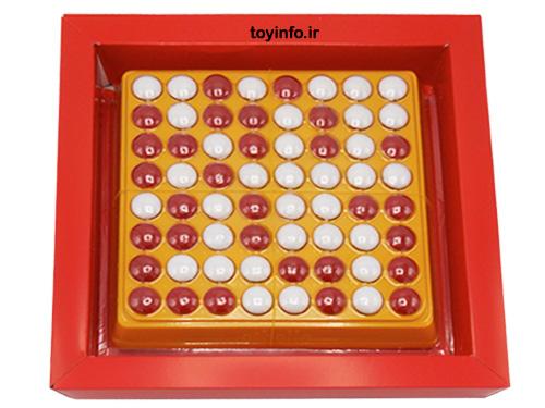 بازی اتللو در داخل جعبه , بازی فکری , اسباب بازی فکری آموزشی