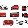 ست ماشین فلزی , اسباب بازی پسرانه باز