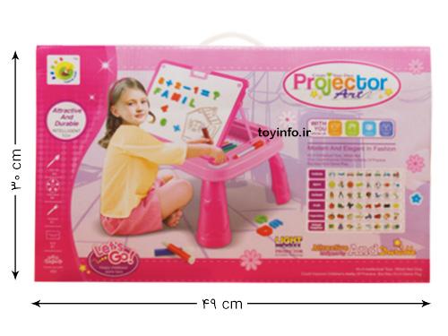 ابعاد جعبه بسته بندی اسباب بازی دخترانه