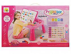 تصویر جعبه بسته بندی پروژکتور نقاشی دخترانه
