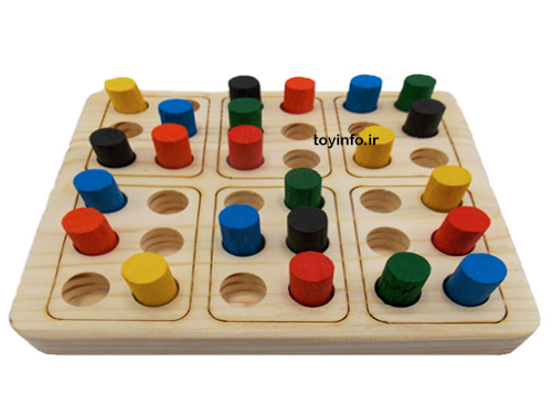 کیدوکو بازی فکری آموزشی مشابه سودوکو