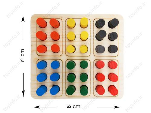 ابعاد و اندازه صفحه بازی