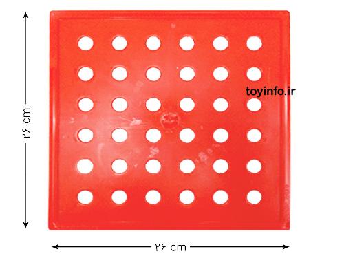 اندازه صفحه بازی