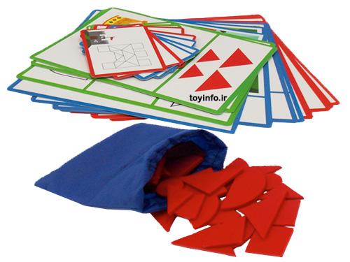 کارت و قطعات بازی فکری