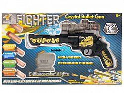 تفنگ تیر ژله ای در جعبه بسته بندی