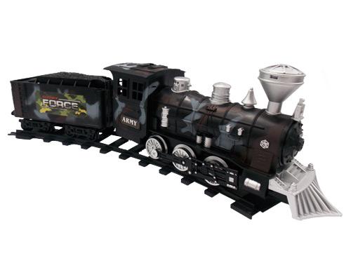 قطار نظامی همراه با دستگاه کنترل آن