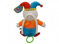 عروسک بامزه با رنگ های شاد