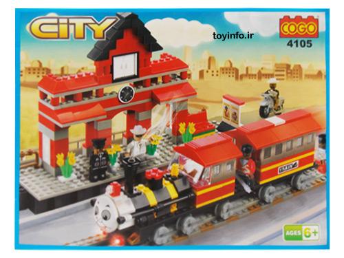 لگو قطار,قطار لگویی ,بازی فکری لگو