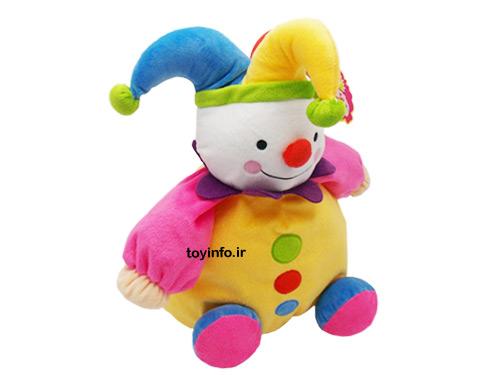 عروسک چولیشی تپلی با رنگ های شاد و متنوع