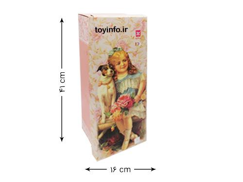 ابعاد جعبه عروسک