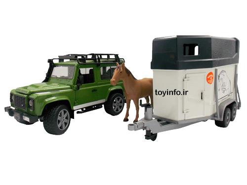 ماشین حمل حیوانات, لندرور برادر
