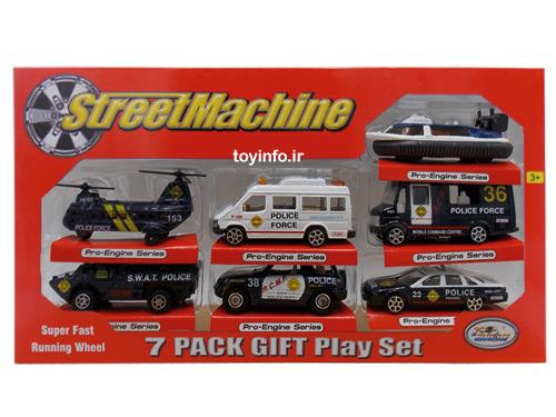 ست ماشین فلزی 7 تایی , اسباب بازی پسرانه
