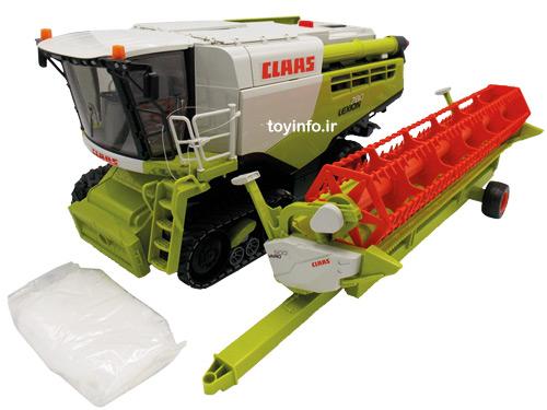 ماشین کمباین کشاورزی با طراحی دقیق