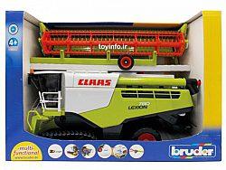 ماشین کمباین کشاورزی در داخل جعبه بسته بندی