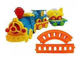 قطار باری شاد و خندان برای کودک خردسال