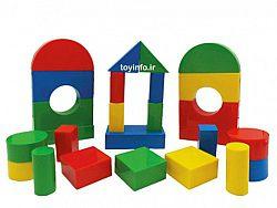 بلوک های چیدنی جالب برای کودک خردسال