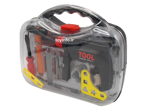 جعبه ابزار کار اسباب بازی پسرانه