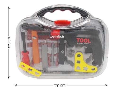 ابعاد کیف جعبه ابزار کار