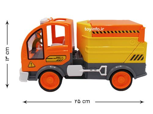 اندازه ماشین کنترل دار خدمات شهری شهرداری