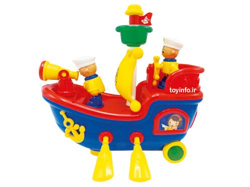 قایق موزیکال متحرک