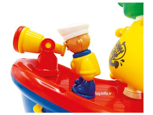 قایق کارتونی متحرک